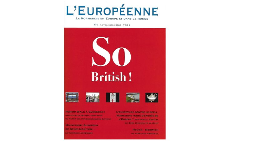 L'Européenne, parution du N°1: