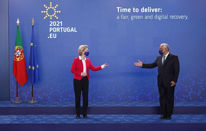 Le Portugal, préside le Conseil de l'Union européenne